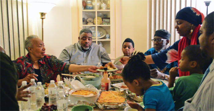 Iftar With An African American Family