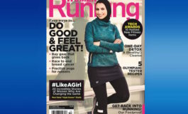 Muslim woman on cover of U.S. fitness magazine