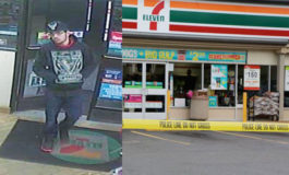 Police searching for 7-Eleven robbery suspect