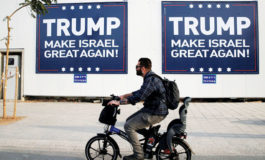 Trump team urges Israel right to tone down enthusiasm