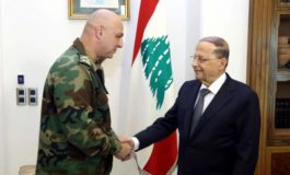Lebanon appoints new army chief