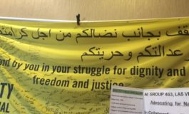 Groups from Amnesty International U.S.A. urge action on Middle East