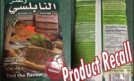 Zaatar brand issues recall for excessive levels of lead