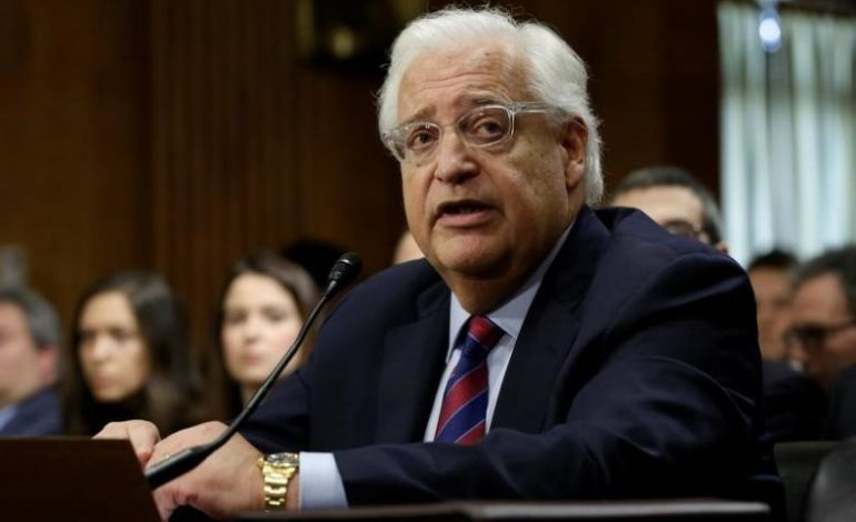 Ambassador David Friedman: A diplomatic oxymoron