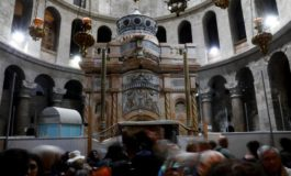 Restoration work completed on Jesus' tomb site in Jerusalem