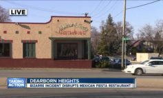Shirtless man causes chaos at Dearborn Heights' Mexican Fiesta restaurant