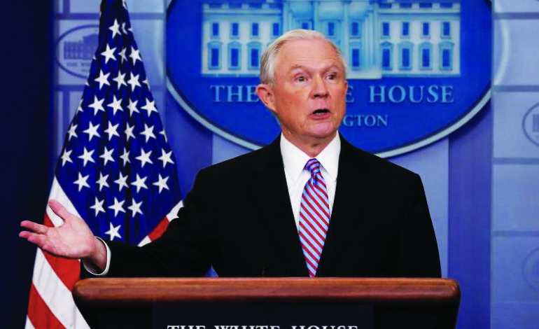 Sanctuary cities and DOJ funding: The hypocrisy of Jeff Sessions