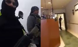 Two armed men who walked into police station hit with felonies