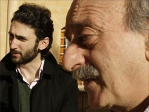 Walid Gumblatt and his son, Taymour Gumblatt.