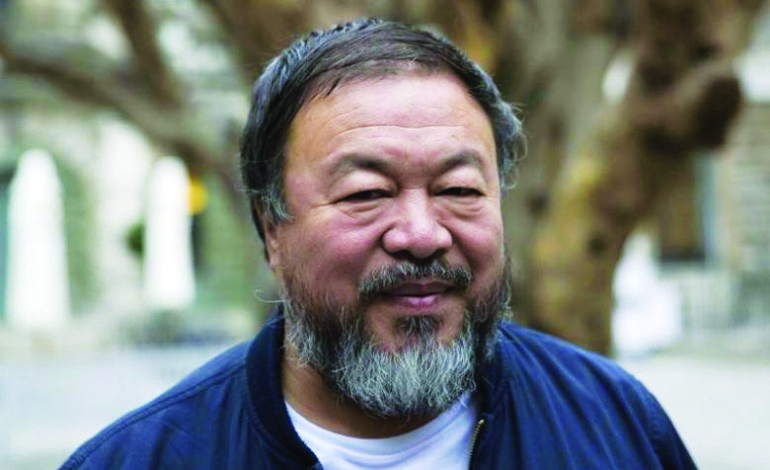 Chinese artist calls on Arab world's richest country to take in Syrian refugees