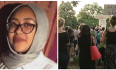 Memorial for Nabra Hassanen burned in Virginia