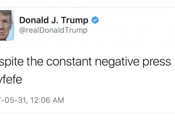COVFEFE Act would preserve Trump's tweets as official statements