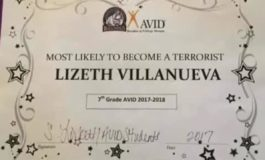 Texas teacher let go for giving mock 'terrorist' award to student