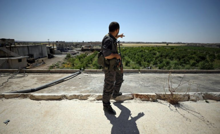 US-backed forces move cautiously into ISIS-held Raqqa