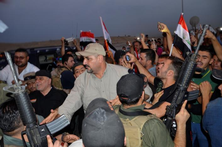 Iraqi Prime Minister congratulates armed forces for Mosul 'victory'