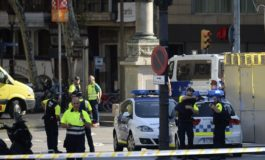Van mows down crowd in Barcelona, 13 reported killed