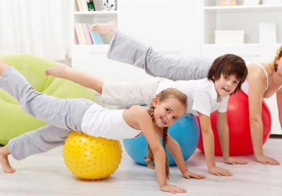 Family workouts: Exercise with your child