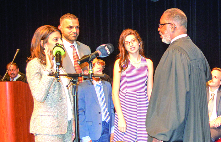 Community, officials celebrate Arab American successes at Judge Mariam Bazzi's investiture