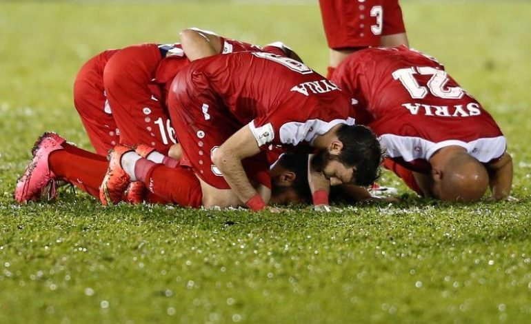 War-torn Syria on verge of World Cup fairytale