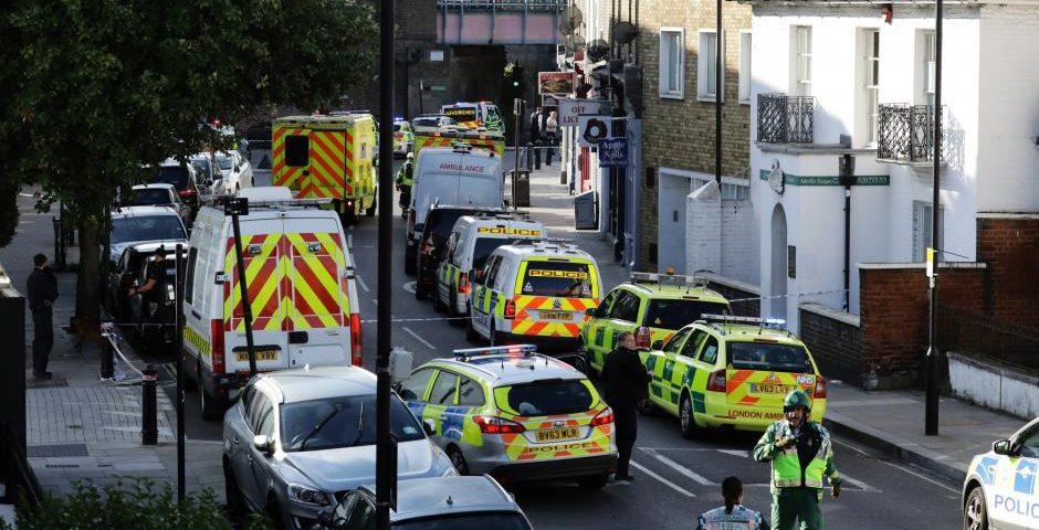 Home-made bomb injures 22 on packed London commuter train