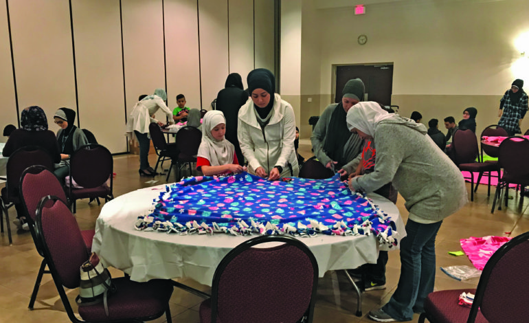 Blankets of Hope event aids young cancer patients
