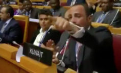 VIDEO: Kuwaiti delegation kicks Israeli delegation from the International Parliament Summit