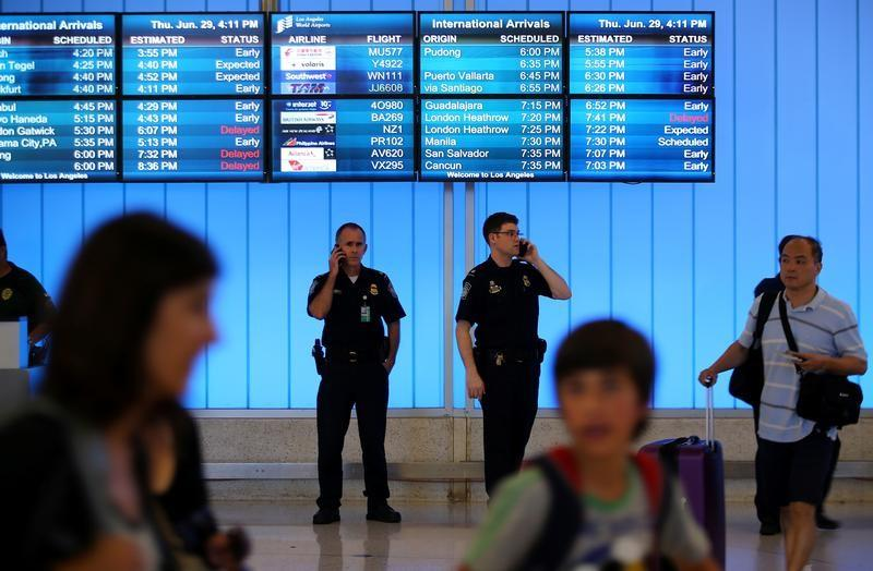 Changes to airport security procedures