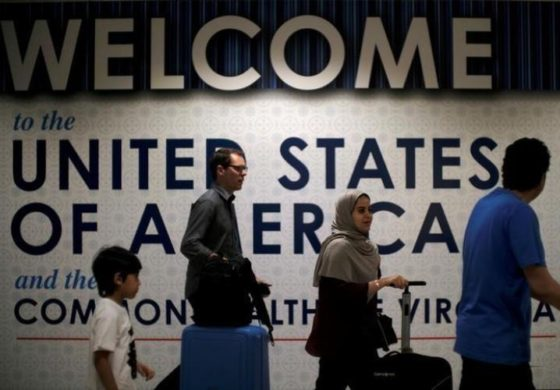 Airlines implement tougher U.S. security rules on incoming passengers