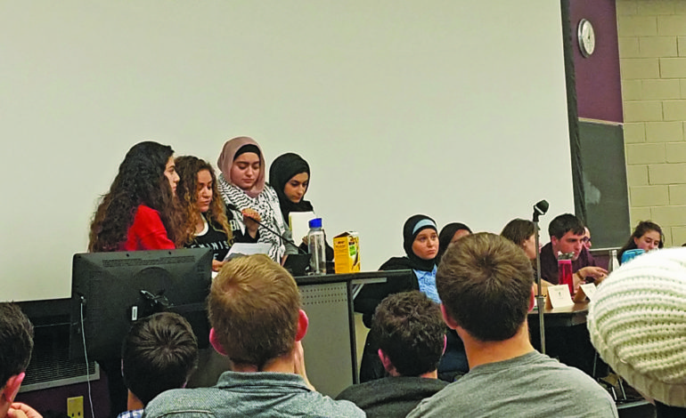 Central Student Government president speaks about #UMDivest resolution