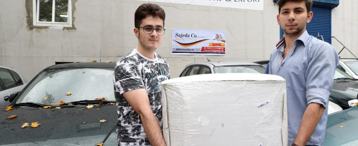 'Made in Syria': Refugees in Germany drive exports from home