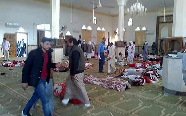 Egypt: Hundreds dead in a terrorist attack on mosque in north Sinai