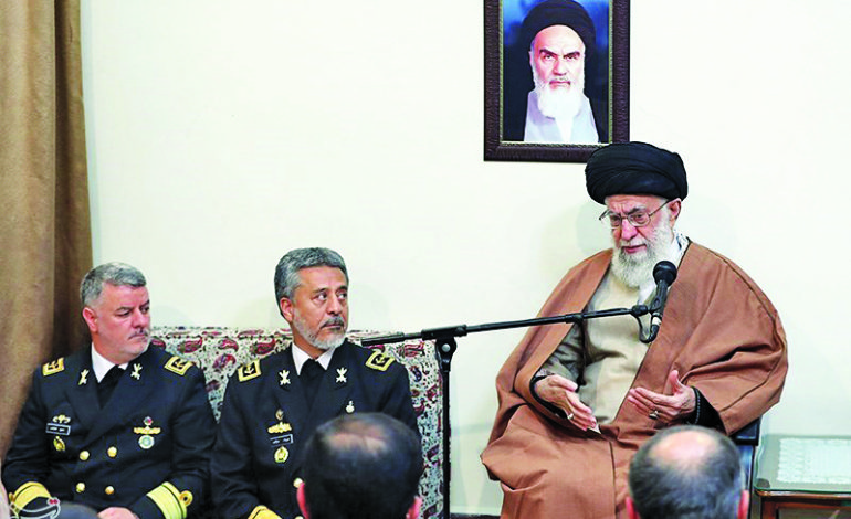 Khamenei calls for Iranian Navy expansion