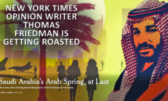 Tom Friedman'spaean to a Saudi tyrant ignites NYT comments-storm