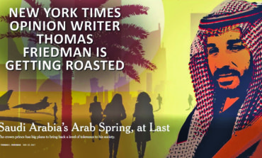Tom Friedman's paean to a Saudi tyrant ignites NYT comments-storm