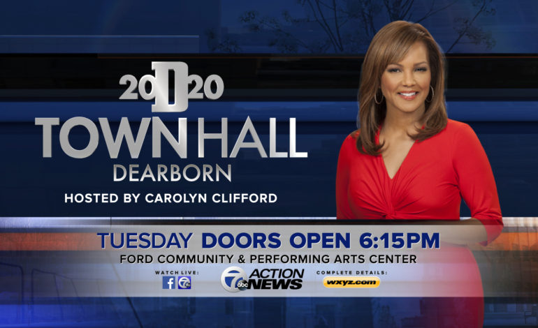 WXYZ to hold town hall in Dearborn on Dec. 5 with an open mic