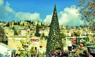 Nazareth scales down Christmas celebrations in protest of Trump's Jerusalem decision