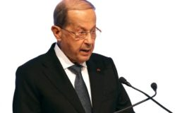 Lebanon President Aoun urges forgiveness, stability after protests