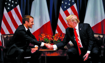 Macron tells Trump of need to abide by Iran nuclear deal