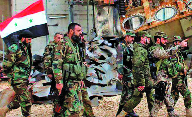 Syrian army dismisses rebels claim of progress in Idlib province, continues offensives