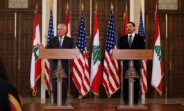 Tillerson says Hezbollah role is a threat to Lebanon