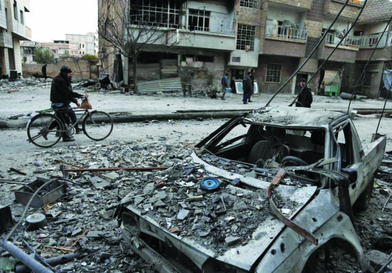 U.N. urges Russia to expand eastern Ghouta aid plan