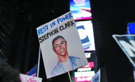 Protests erupt as family buries police shooting victim Stephon Clark