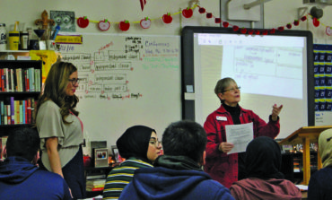 League of Women Voters visits Dearborn high schools, encourages students' participation