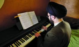 Lebanese cleric's piano playing strikes wrong note for some