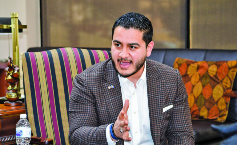 Abdul El-Sayed on a mission to change the face of Michigan politics