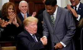 Fifty years after King's assassination, U.S. civil rights leaders lament Trump's rise