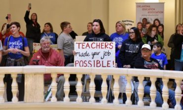 Sagging school funding fuels teacher protests