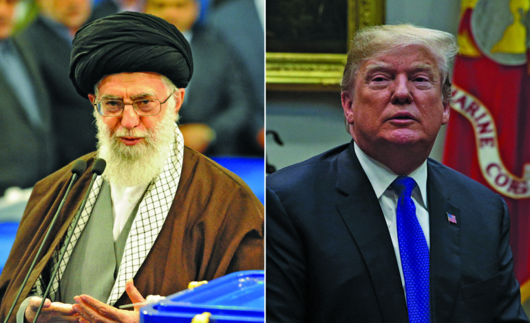 Pompeo lays out U.S. demands on Tehran, Khamenei sets condition for EU to stay in deal