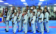 Koubeissi Taekwondo School stresses moral focus as the road to success