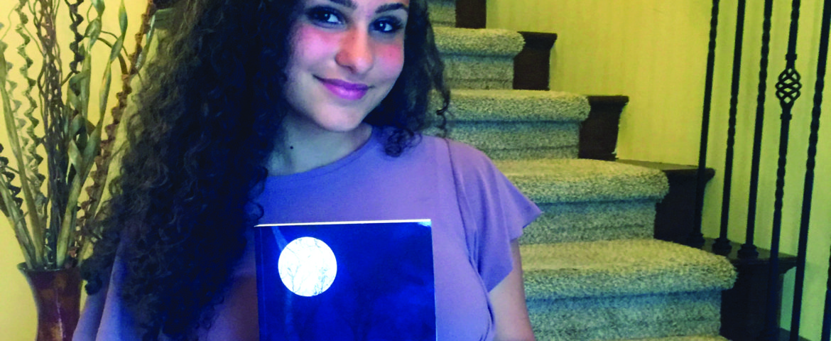 Young Arab American on track to becoming a professional author